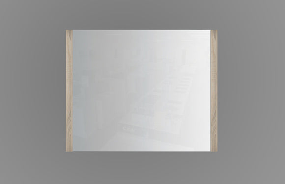 750mm Mirror Oak MR750OAK,Mirrors,Frame Mirror,thebathroomoutlet