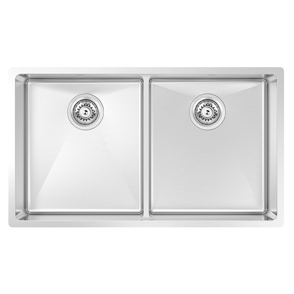 MONTEGO DOUBLE BOWL SINK