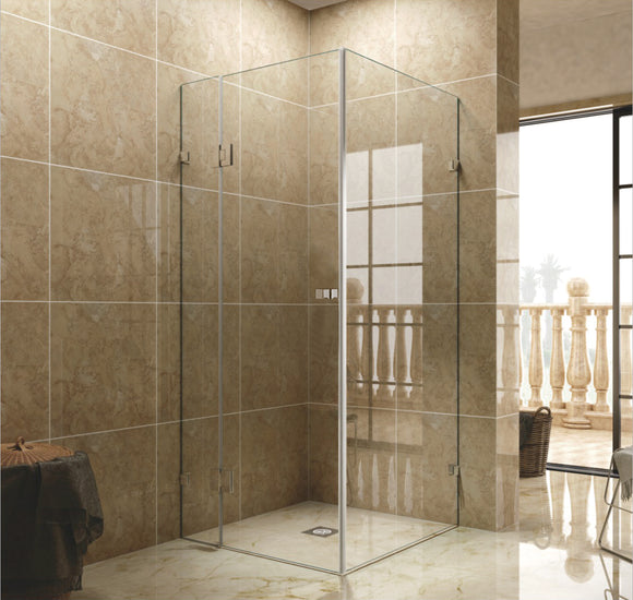 SF Series Frameless Shower Screen 900mm SF900,Showers,Shower Screen,thebathroomoutlet
