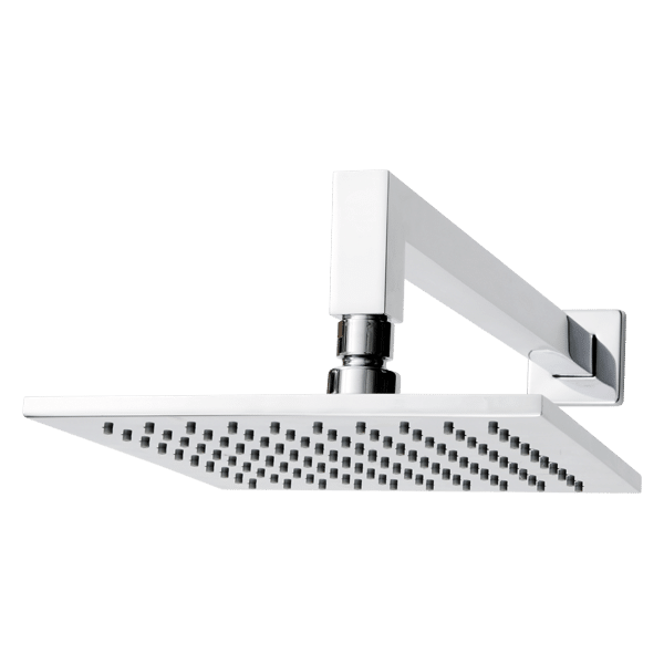 BRASS SQUARE 200MM HORIZONTAL SHOWER