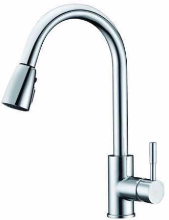 Carl Pull-out Sink Mixer 503317C,Kitchen Sinks,Tapware,Carl, Kitchen Tapware,thebathroomoutlet