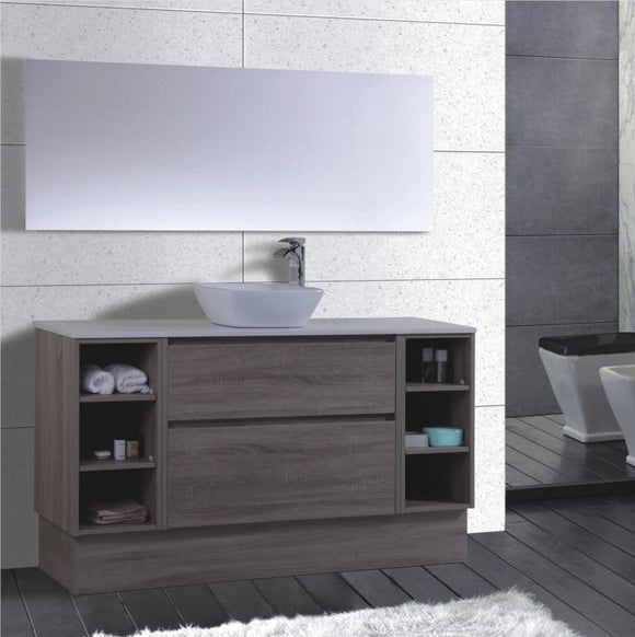 Caliber Series VMF1500DWS WGE Free Standing,Vanities,1500mm,thebathroomoutlet