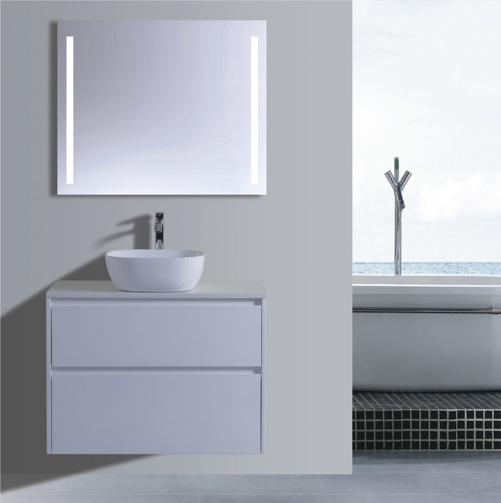 Caliber Series VMF900DW WHT Wall Hung,Vanities,900mm,thebathroomoutlet