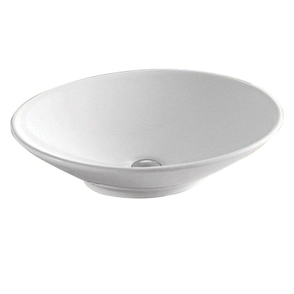 Ovol 500 Above Counter Basin BSN-P006,Basins,Above Count Basin,thebathroomoutlet