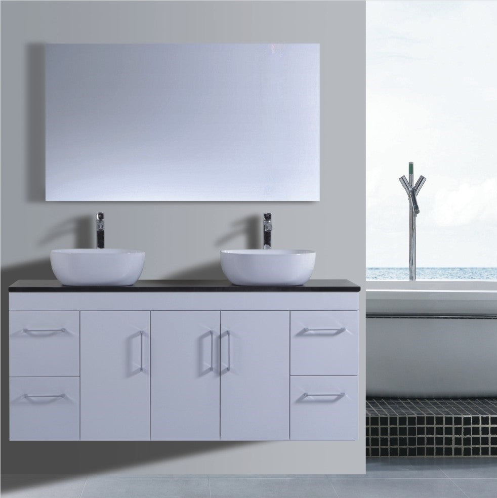 Lush Series VGN1500 WHT Wall Hung,Vanities,1500mm,thebathroomoutlet