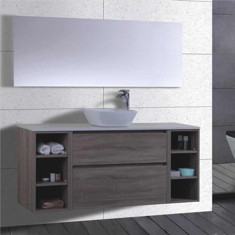 Caliber Series VMF1500DWS WGE Wall Hung,Vanities,1500mm,thebathroomoutlet