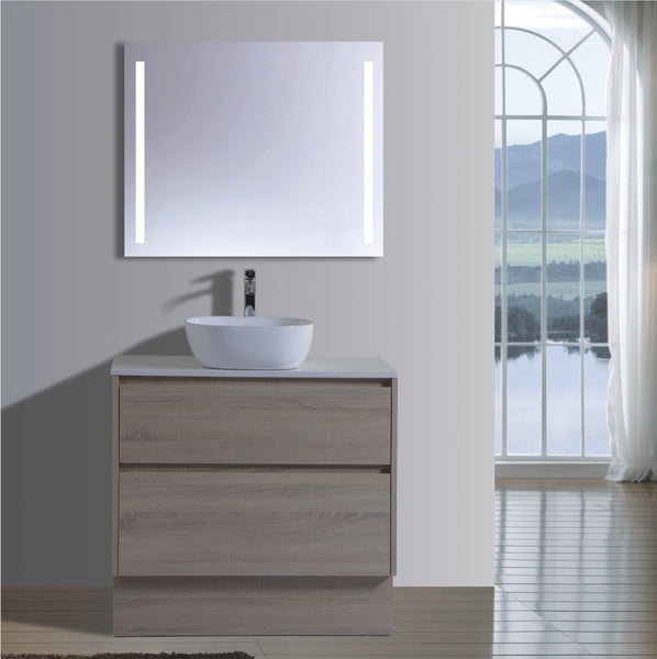 Caliber Series VMF900DW OAK Free Standing,Vanities,900mm,thebathroomoutlet