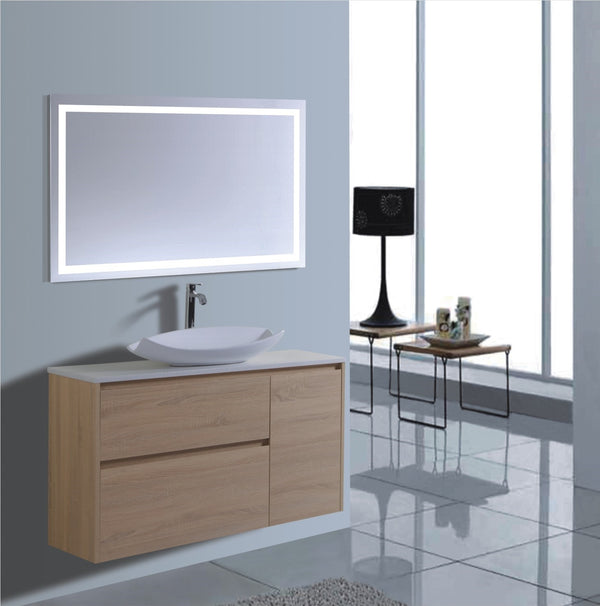 Caliber Series VMF1200DR OAK Wall Hung,Vanities,1200mm,thebathroomoutlet