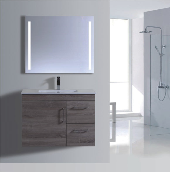 Lush Series VGN900 WGE Wall Hung,Vanities,900mm,thebathroomoutlet