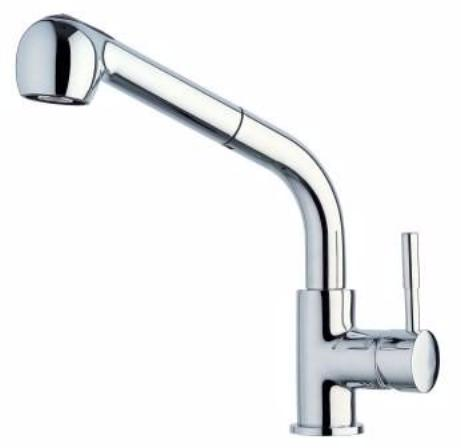 Rocket Pull-out Sink Mixer 333040C,Kitchen Sinks,Laundry,Tapware,Kitchen Tapware, Laundry Tapware, Rocket,thebathroomoutlet