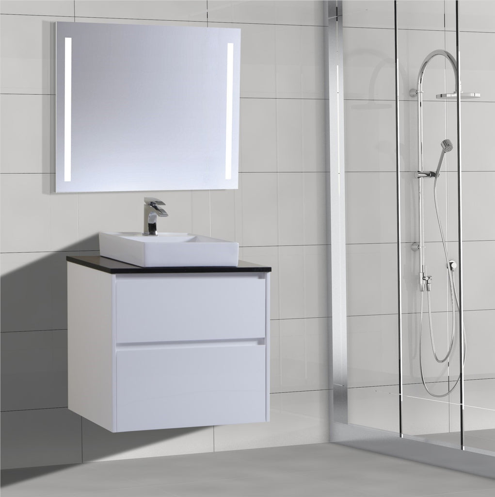 Caliber Series VMF750DW WHT Wall Hung,Vanities,750mm,thebathroomoutlet