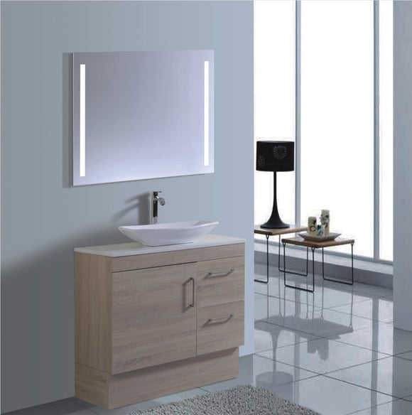 Lush Series VGN900 OAK Free Standing,Vanities,900mm,thebathroomoutlet