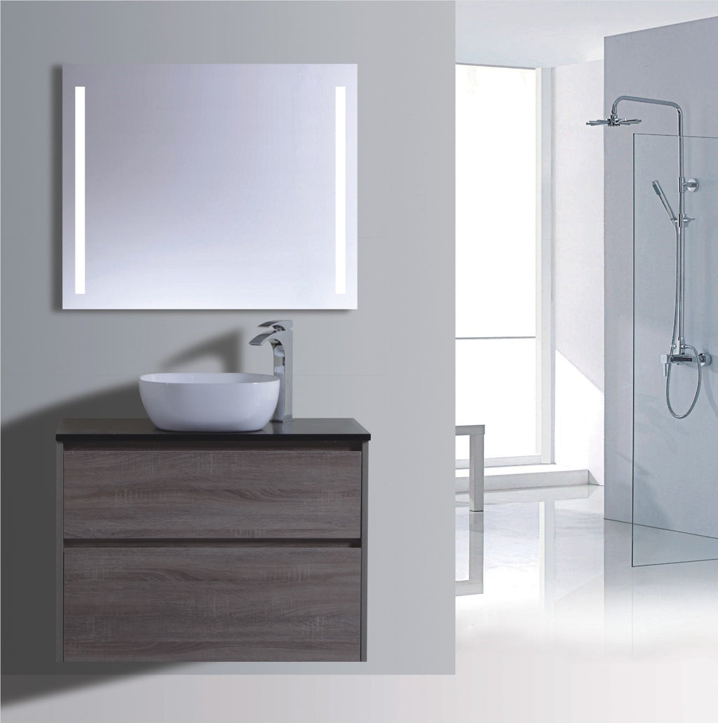 Caliber Series VMF750DW WGE Wall Hung,Vanities,750mm,thebathroomoutlet