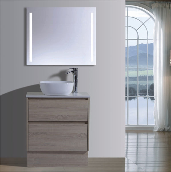 Caliber Series VMF750DW OAK Free Standing,Vanities,750mm,thebathroomoutlet