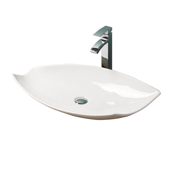 Leaf Above Counter Basin BSN-P018,Basins,Above Count Basin,thebathroomoutlet