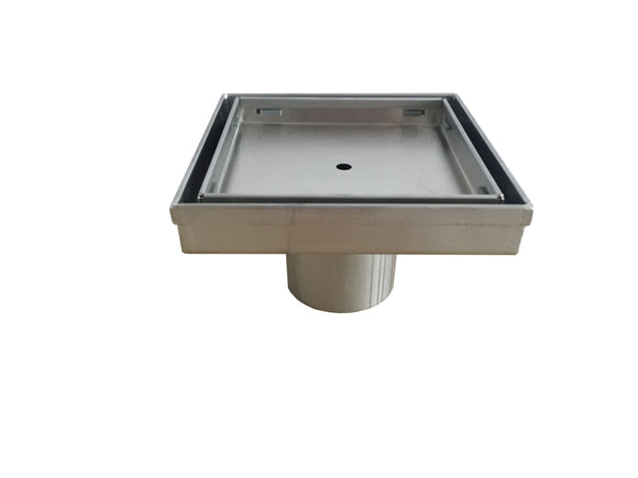 Cube Floor Waste 10050,Wastes,Shower Channel & Grates,thebathroomoutlet