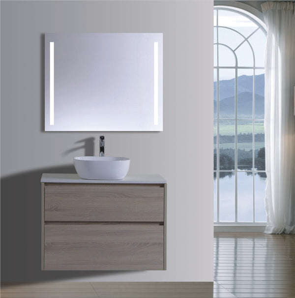 Caliber Series VMF900DW OAK Wall Hung,Vanities,900mm,thebathroomoutlet