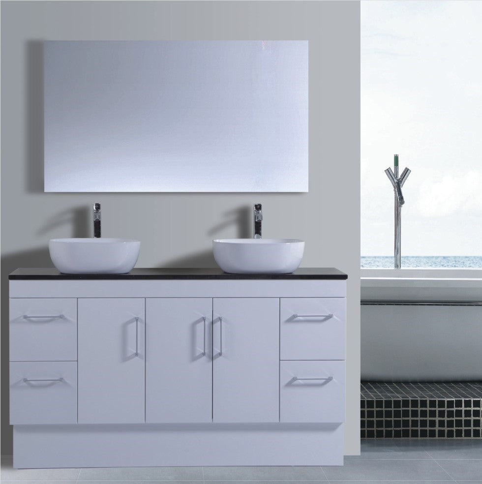 Lush Series VGN1500 WHT Free Standing,Vanities,1500mm,thebathroomoutlet