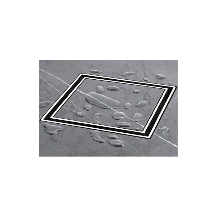 BERMUDA Tile Insert Square Floor Grate 100mm,Showers,Wastes,Floor Wastes, Shower Waste & Channels,thebathroomoutlet