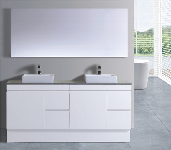 Reflex Series VGM1800 WHT Free Standing,Vanities,1800mm,thebathroomoutlet