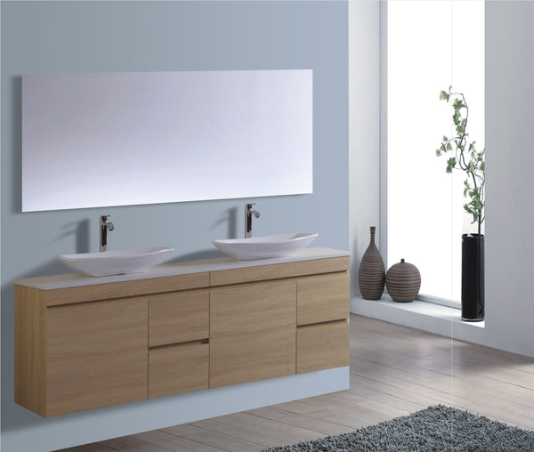 Reflex Series VGM1800 OAK Wall Hung,Vanities,1800mm,thebathroomoutlet