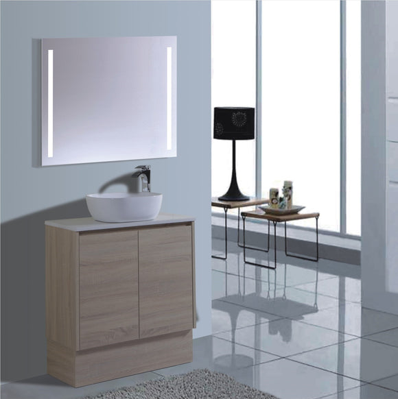 Caliber Series VMF750DR OAK Free Standing,Vanities,750mm,thebathroomoutlet