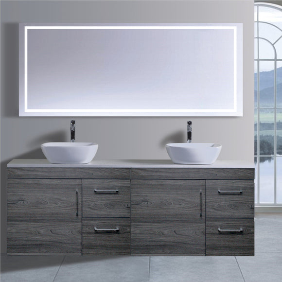 Lush Series VGN1800 CCO Wall Hung,Vanities,1800mm,thebathroomoutlet
