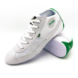 Unisex High Top White & Green Dance Sneakers