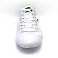 Unisex High Top Sneakers - White & Green