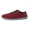 Unisex Corrida Sneakers - Burgundy & Black