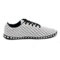 Unisex Corrida Sneakers - White & Black