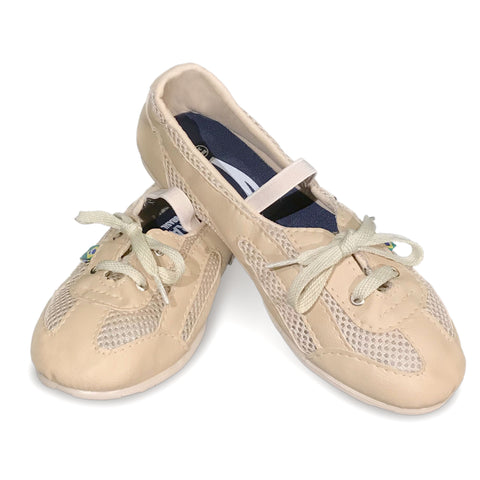 Women's Ballerina Skin Color Dance Sneaker