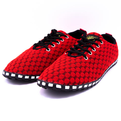Unisex Corrida Red Dance Sneakers