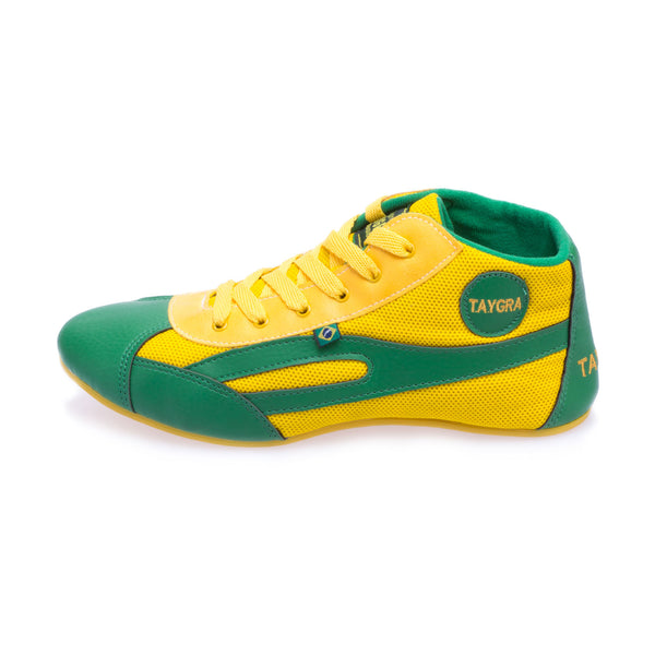 Men's Montante Yellow & Green High Top Flex Training Dance Sneaker