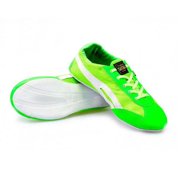 Men's Slim Fluorescent Green Flex Training Dance Sneaker