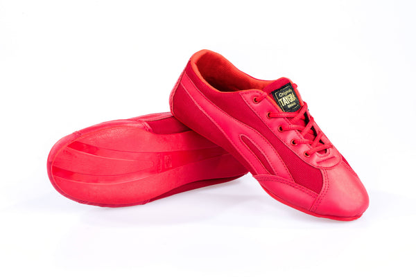 Men's Slim Red Flex Training Dance Sneaker