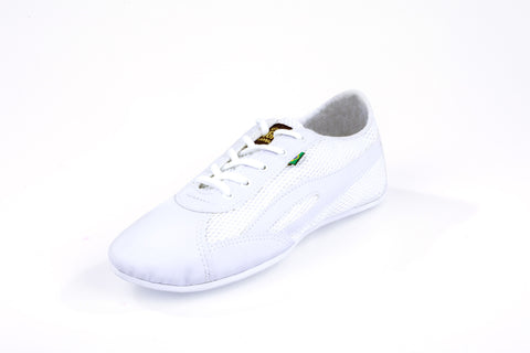 Unisex Slim White Flex Training Dance Sneaker