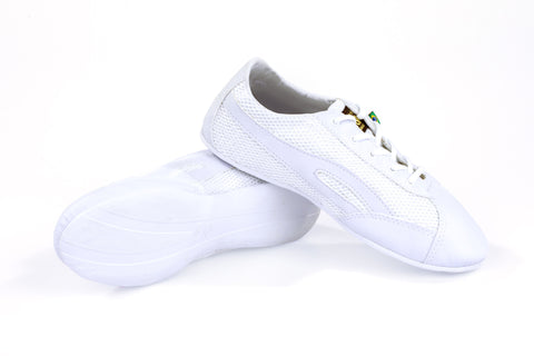Unisex Classic All White Dance Sneaker