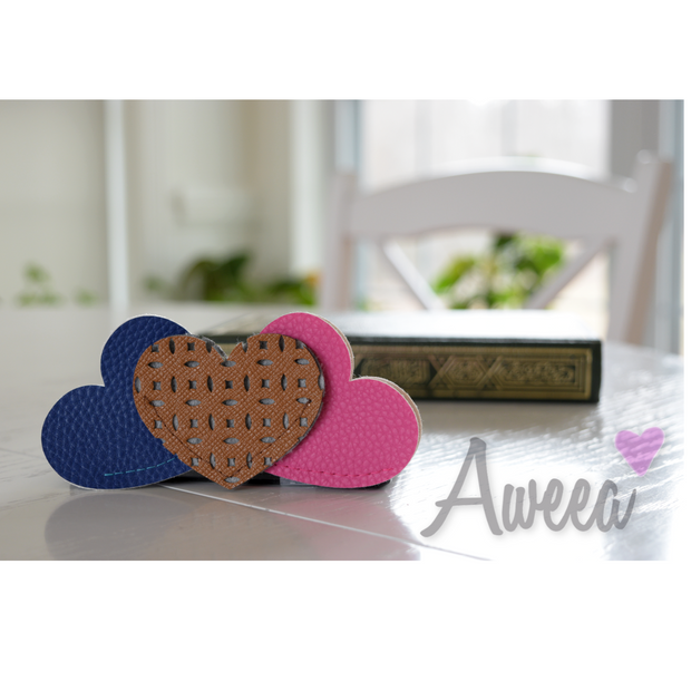 Heart Bookmarks Set 1 - Aweea Muslim Abaya, caftans, baby turbans