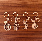 Moon. All is Well Keychain - Aweea Muslim Abaya, caftans, baby turbans