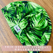 Palm Leaf Swim- Workout Turban - Aweea Muslim Abaya, caftans, baby turbans
