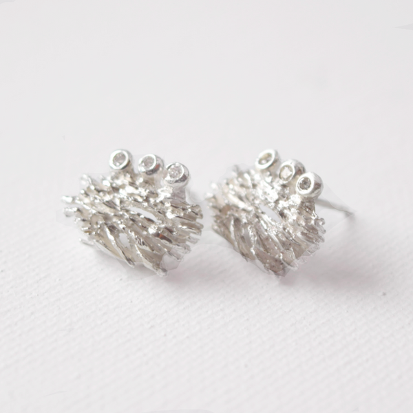 Diamond Earrings Inspired by Cosmic