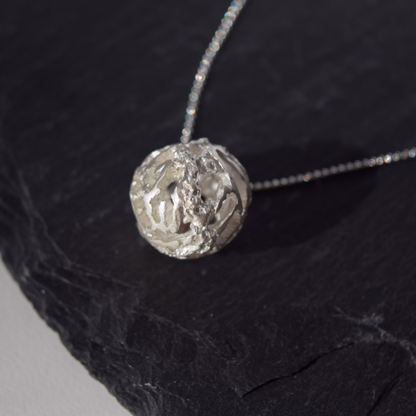 Rough Diamond Necklace