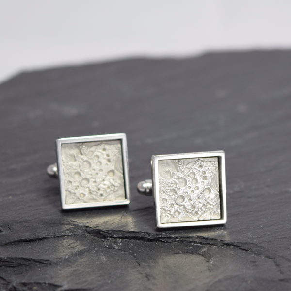 Cufflinks Inspired by Moon, unique cufflinks
