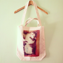CAT TOTE BAG (Cat in a box)