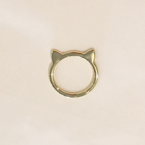 CAT RING (Small/Gold)