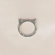CAT RING (Small/Silver)