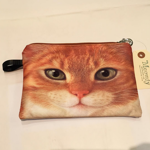 CAT POUCH (Orange Cat)