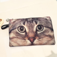 CAT POUCH (Silver Tabby)