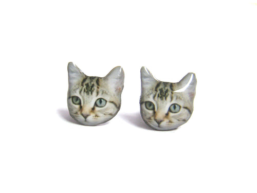 CAT EARRINGS (Little Kitten)